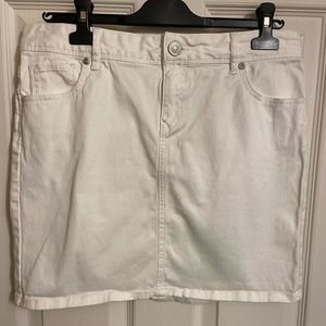 LOFT 5 pocket Denim Skirt